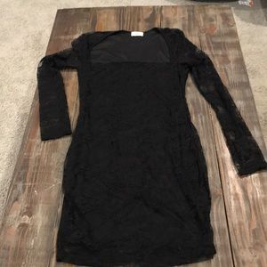 Size Small Tobi black lace dress